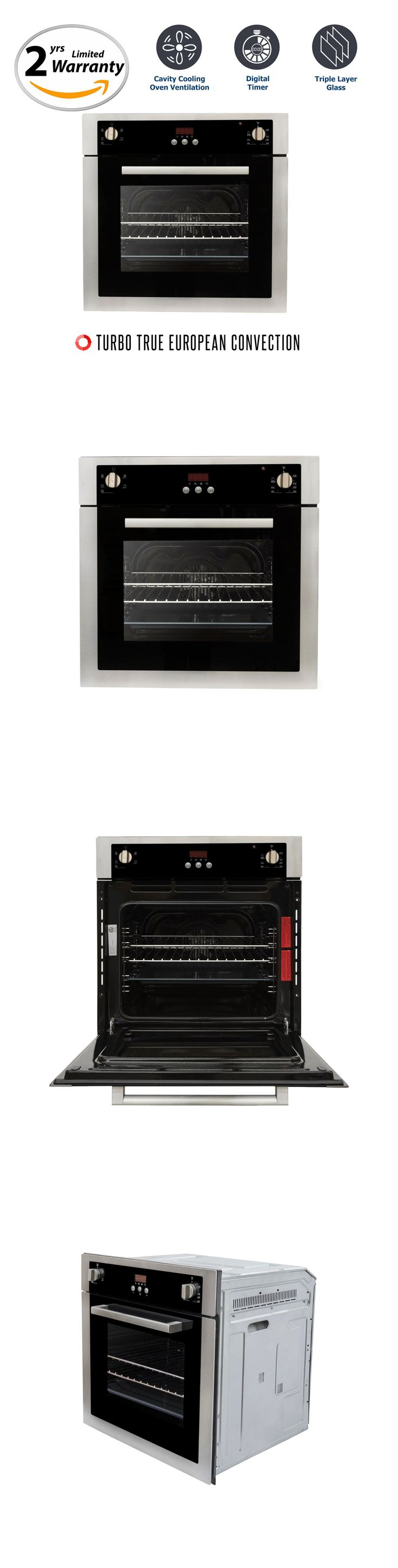 Wall Ovens 71318: 24 Built In Electric Wall Oven With Convection ***Brand New*** (C51eix) -> BUY IT NOW ONLY: $749.99 on eBay!