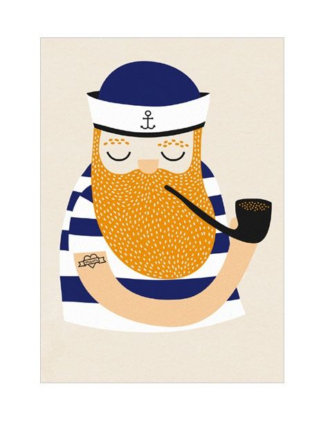 Little Sailor Karte A5
