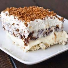 Milionársky karamelový koláč