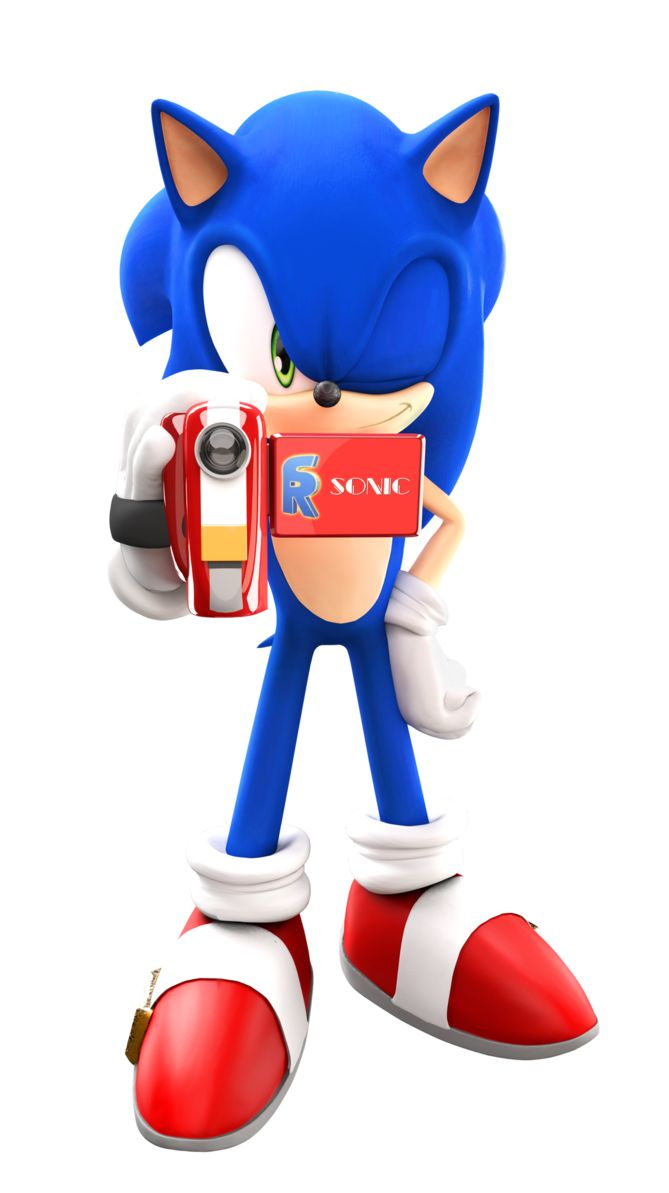 Sonic With A Camera by FinnAkira on deviantART