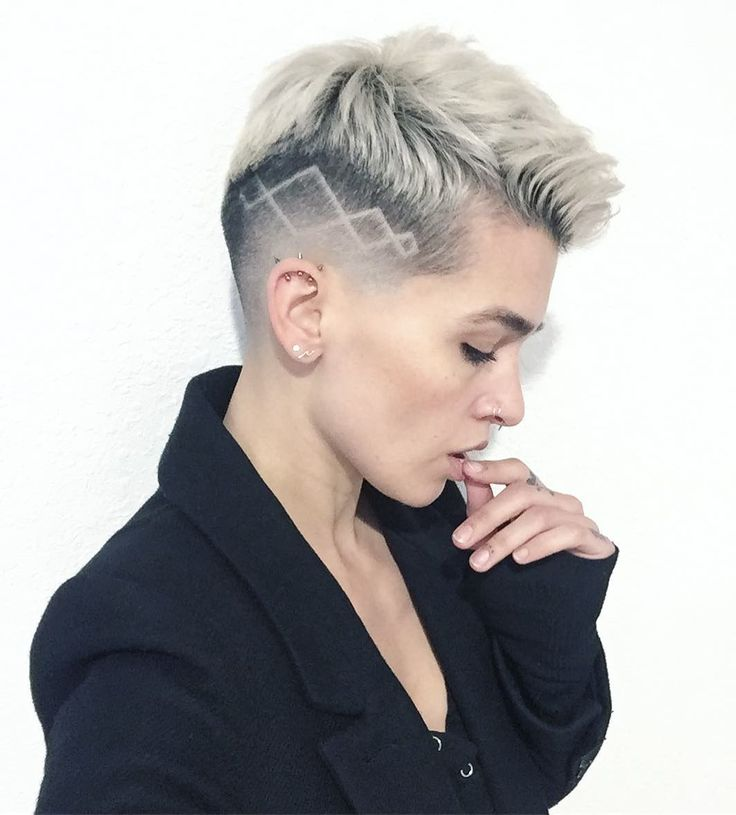 Nude picture shaved hair cuts