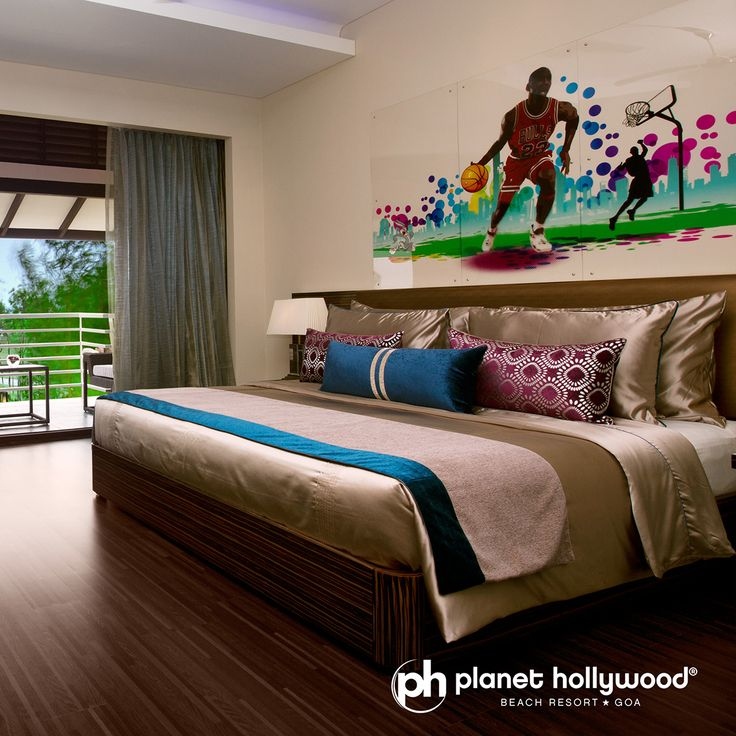 #PHGoa #BeachResort #Goa has special and exotic view from your bedroom!!  #Book your stay online at www.planethollywoodgoa.com