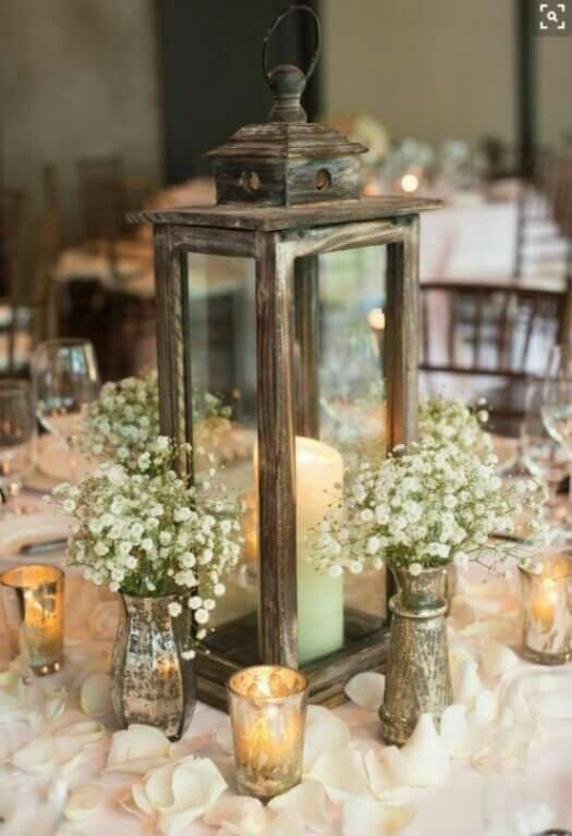 Simpler centerpiece idea.