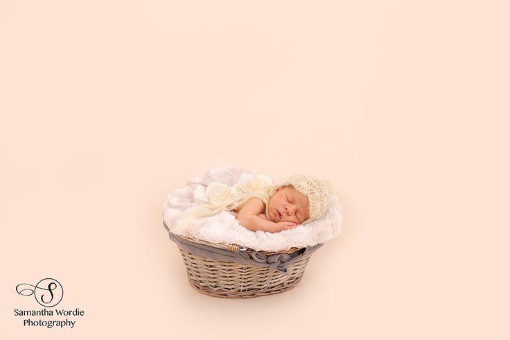 Newborn Photography, Newborn in basket, Child photography, Tutu, Samantha Wordie Photography