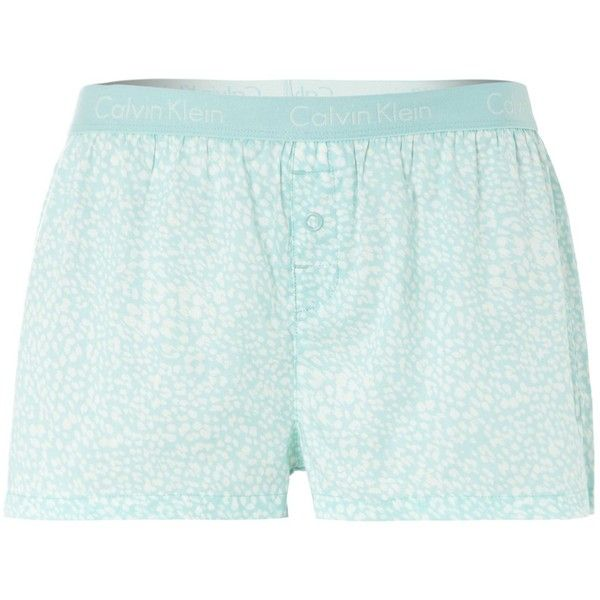Calvin Klein Brushstroke print boxer short w/ logo ($16) ❤ liked on Polyvore featuring intimates, panties, sale, calvin klein, calvin klein boxers, modal boxers and short boxer