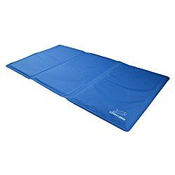 EXPAWLORER Pet Cooling Gel Pad, Comfort Non-Toxic Cold Mat for Dogs Cats, Large 36″ x 20″