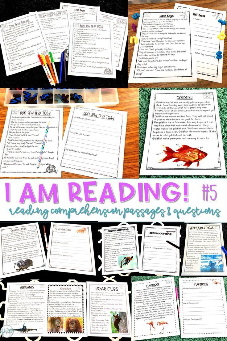 This 52 Page Resource Is Perfect For Mid End Of Kindergarten And First Grade It Could A Reading Passages Close Reading Passages Reading Comprehension Passages [ 1104 x 736 Pixel ]