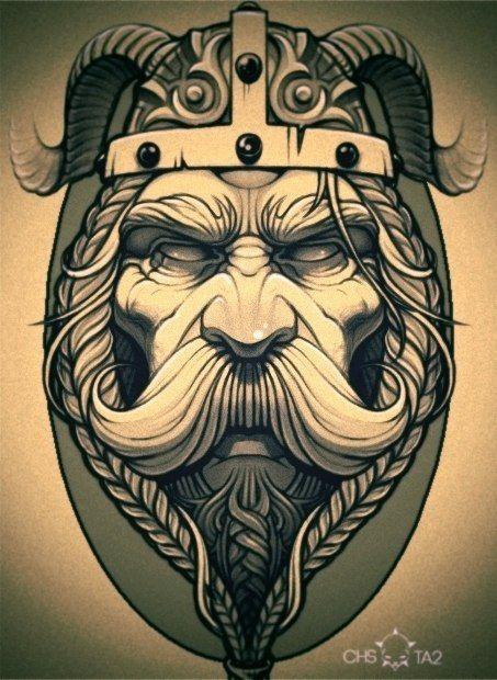 viking by Евгений Читаев, via Behance