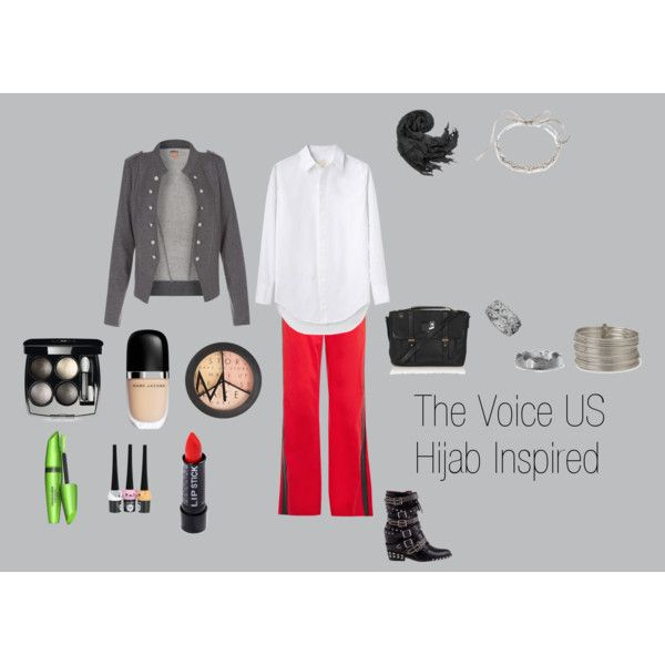 """""""The Voice US Hijab Inspired"""" by fabsmusician on Polyvore"""