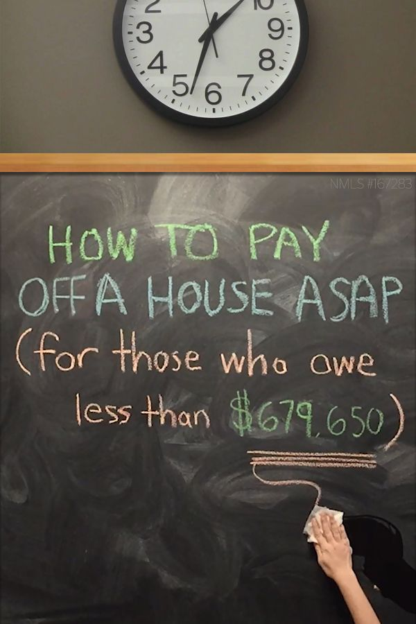 How To Pay Off Your House ASAP (It's Genius) - If you owe less than $679,650, you could take advantage of a mortgage bailout designed for the middle class (PROGRAM EXPIRES THIS YEAR). See how much you can save! Calculate Your New House Payment Now