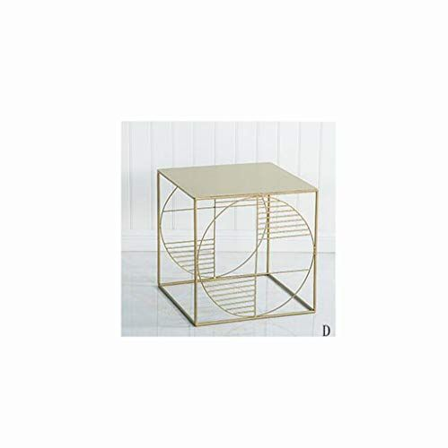 Mbd Bedside Table Wrought Iron Simple Modern Coffee Table Nordic