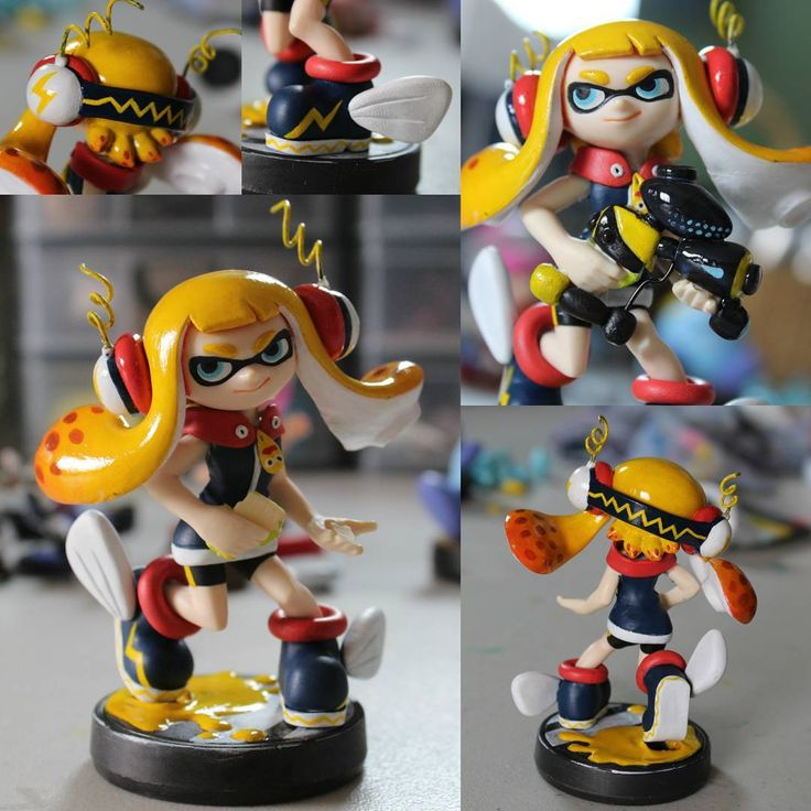 «Newest inkling! This one is an original design based off of the Great Zapfish, I had a blast making it! ^-^ Design is not my own though. This is probably…»