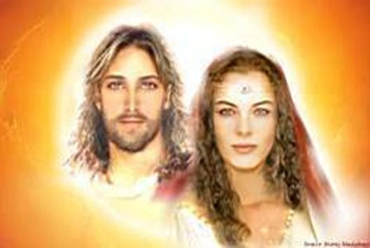 Jesus, (Lord Sananda)  and Mary Magdalene (Lady Nada)