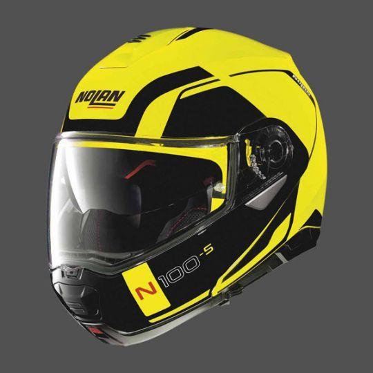 Nolan N100-5 Consistency N-Com Helmet - Led Yellow