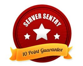 How is Server Sentry putting your best interests first? By placing great importance on the quality of service to our customers. We stand by our professional services and so provide the added assurance of our 10 Point Guarantee that is unmatched in the industry today.
