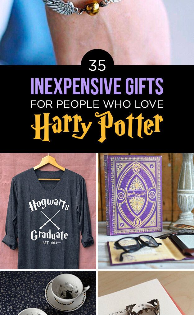 """35 Gifts For Anyone Who Likes """"Harry Potter"""" More Than People"""
