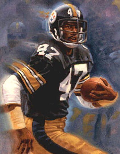 df9a4f0f0 ... St Mel Blount, Pittsburgh Steelers by Ken Joudrey, ...