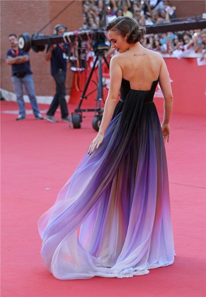 Moderno Vestido De Baile Gabriella De Hsm Ideas Ornamento ...