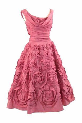 Ceil Chapman dress, 1950's.