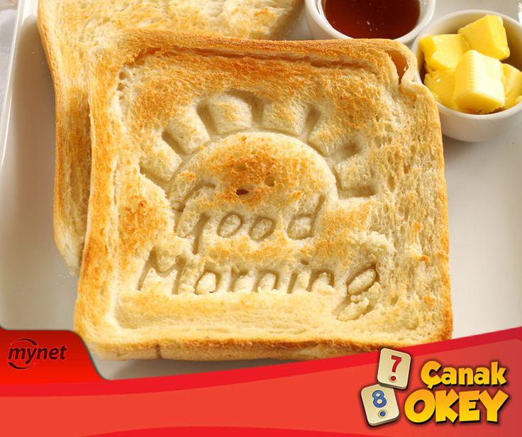 Güzel bir gün #ÇanakOkey ile başlar! #Günaydın!!!  Facebook: https://goo.gl/lVScwl Android: https://goo.gl/yimmmV iOS: https://goo.gl/M0xZt0