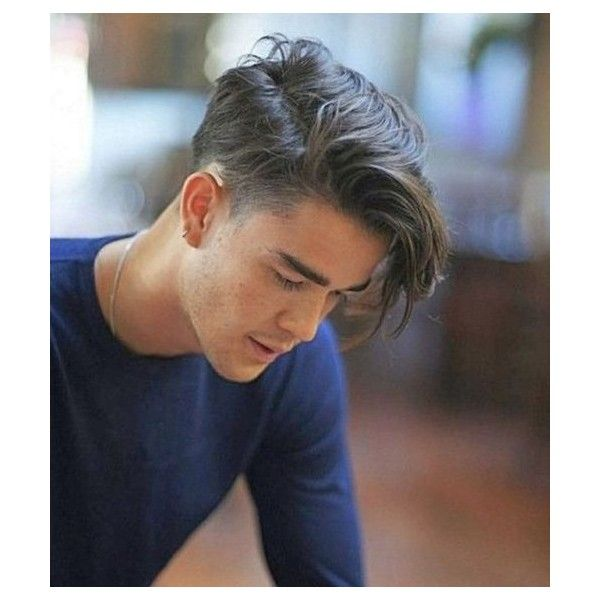 100 Cool Short Hairstyles and Haircuts for Boys and Men ❤ liked on Polyvore featuring men's fashion
