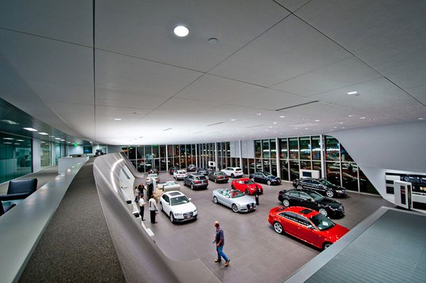 Ceiling Hunter Douglas Contract At Pacific Audi Hunter