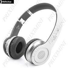 Casque audio sans fil Bluetooth - 3.5mm - BLANC - Gestion Fce - Liv. gratuite !
