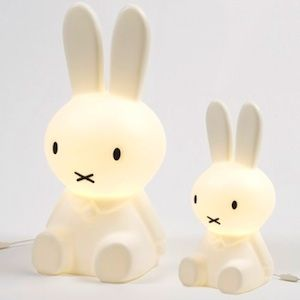 Miffy kids lamps - cool! I think my girl needs one of these!