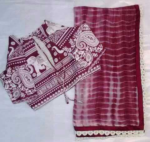 Georgette sarees woth stitched blouses.blouse sizes -34,36,38,40,42