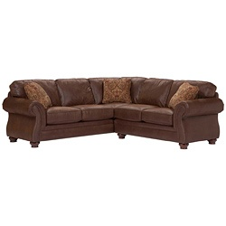 @Overstock - Three or more is never a crowd at your place. The Lauren III sectional sofa brings the crowd together for special gatherings and gives you plenty of room to relax.http://www.overstock.com/Home-Garden/Broyhill-Lauren-III-Brown-2-Piece-Sectional/6748949/product.html?CID=214117 $1,328.99