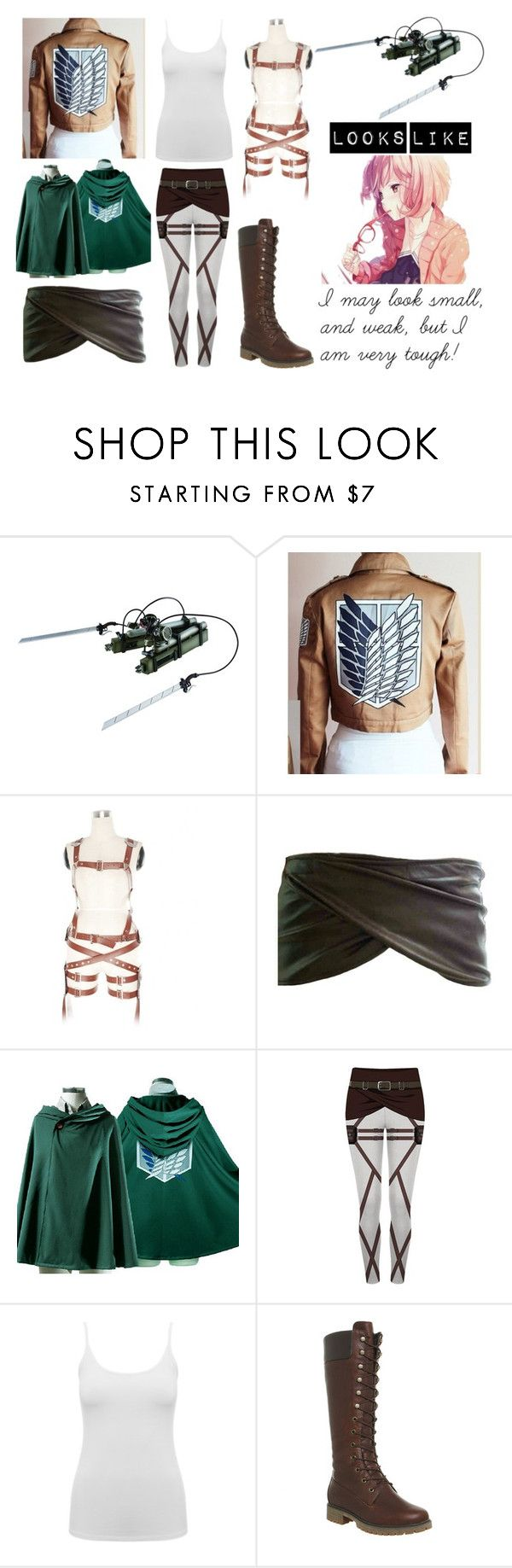 """Attack On Titan OC"" by arithegeek11 on Polyvore featuring M&Co and Timberland"