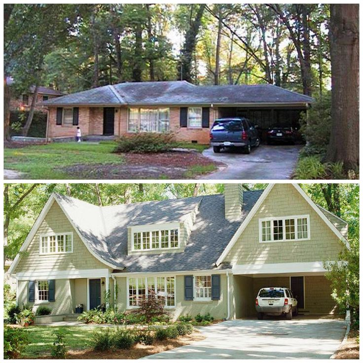 Exterior Home Remodeling: 1950s Ranch Exterior Makeover
