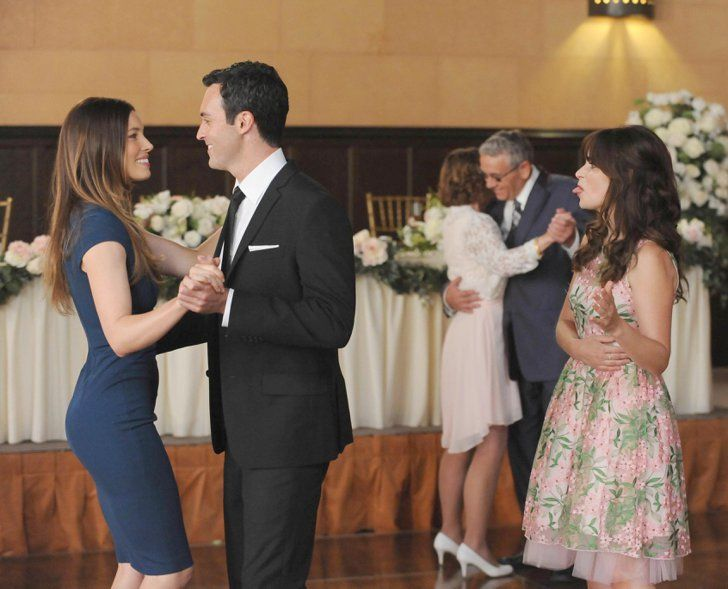 Pin for Later: Here's What's in Store for New Girl's Season Premiere  Jess takes a backseat to Kat while vying for the best man.