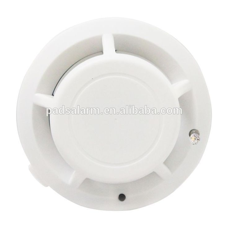 Zigbee High-power 433 HMz smoke detector cooperate for home security alarm system PADS brands #homesecuritysystemsafety