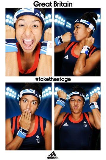 Team GB tennis player Heather Watson