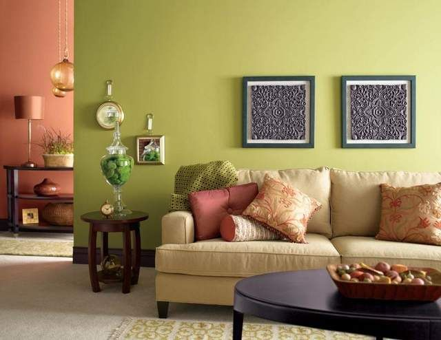 Sherwin williams tupelo tree paint 2 paint colors for - Green paint colours for living room ...