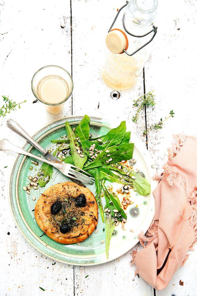 Saveurs Végétales: Mini pissaladières au levain naturel ...