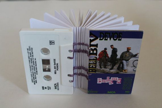 "Bell Biv DeVoe ""Poison"" album - Cassette Tape Notebooks"