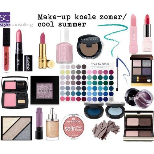 make-up voor het zomertype