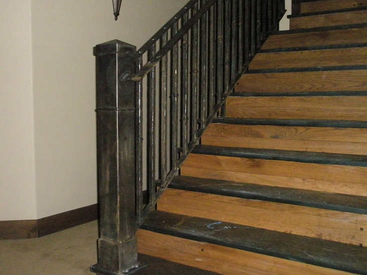 Rustic Antique Interior Railing