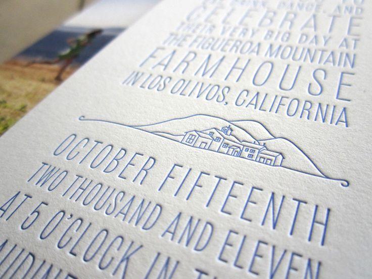 lihat hasil cetak letterpress untuk kartu undangan pernikahan kamu