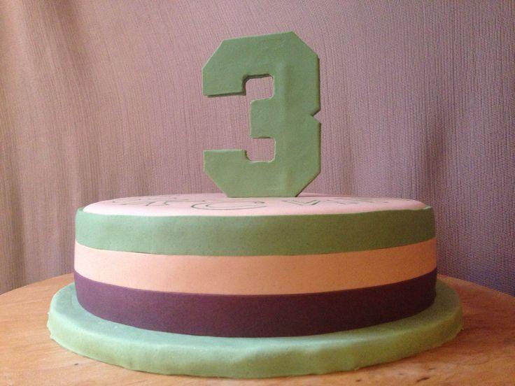 Торт с начинкой Тоффии на детский День рождения