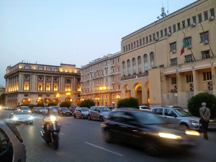 Via Roma Salerno | Questura e Palazzo di Città