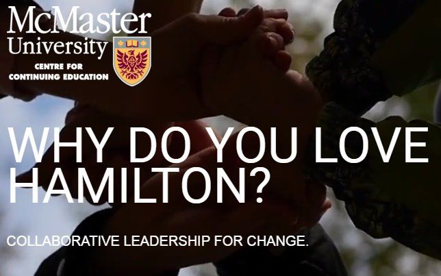Last day to submit #loveHamont short vids for a chance to win a seat in @McMasterContEd course! Details: http://www.lcehamilton.ca   #HamOnt