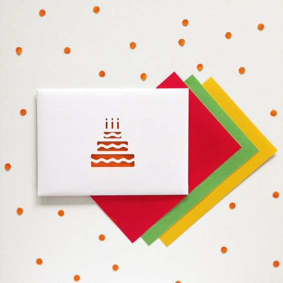 Birthday Card for mum/dad/family/friend/kids by PaperPaperStore