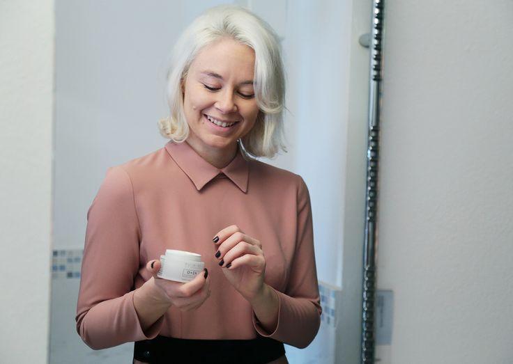 Skinius cream face beauty Lucia Del Pasqua