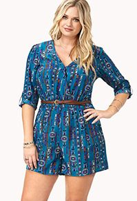 Shop standout rompers and chic plus size jumpsuits | Forever 21