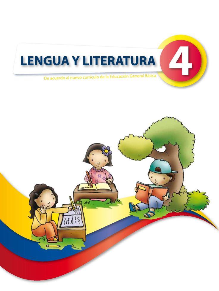 Libro de lengua y Literatura 4to año