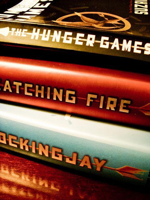 hunger games Best trilogy ever