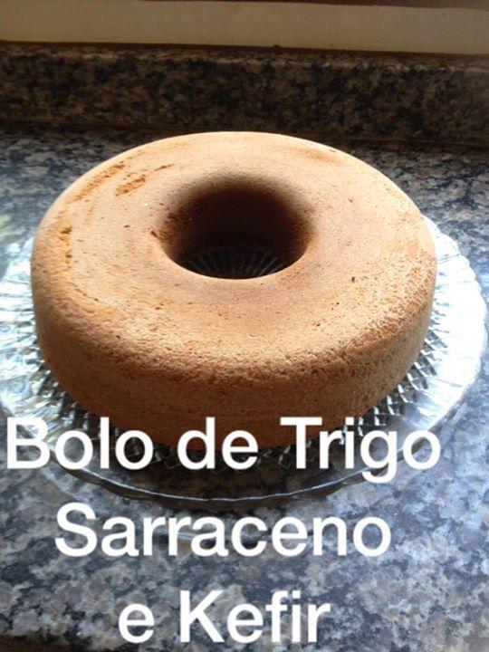 Bolo de Trigo Sarraceno e Kefir